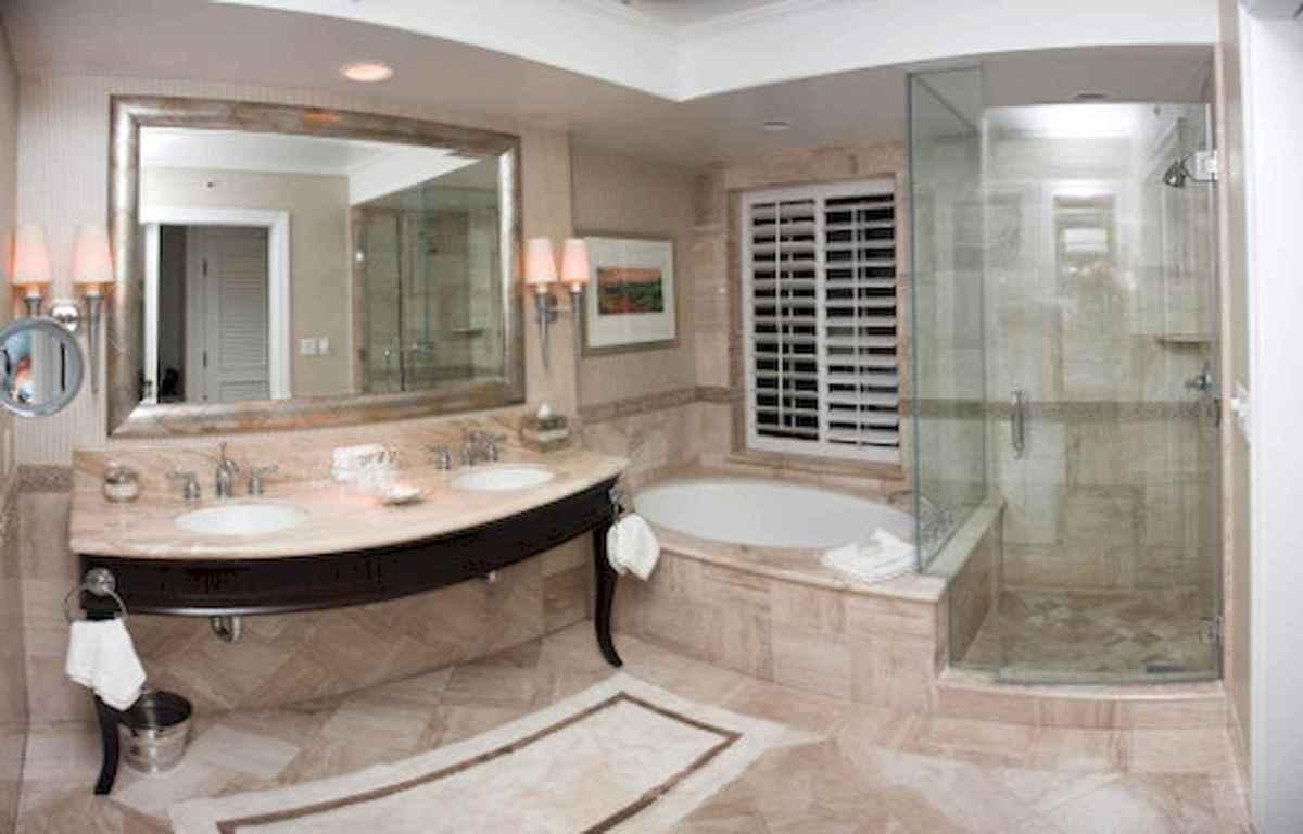 100 best farmhouse bathroom tile shower decor ideas and remodel to inspiring your bathroom (63)