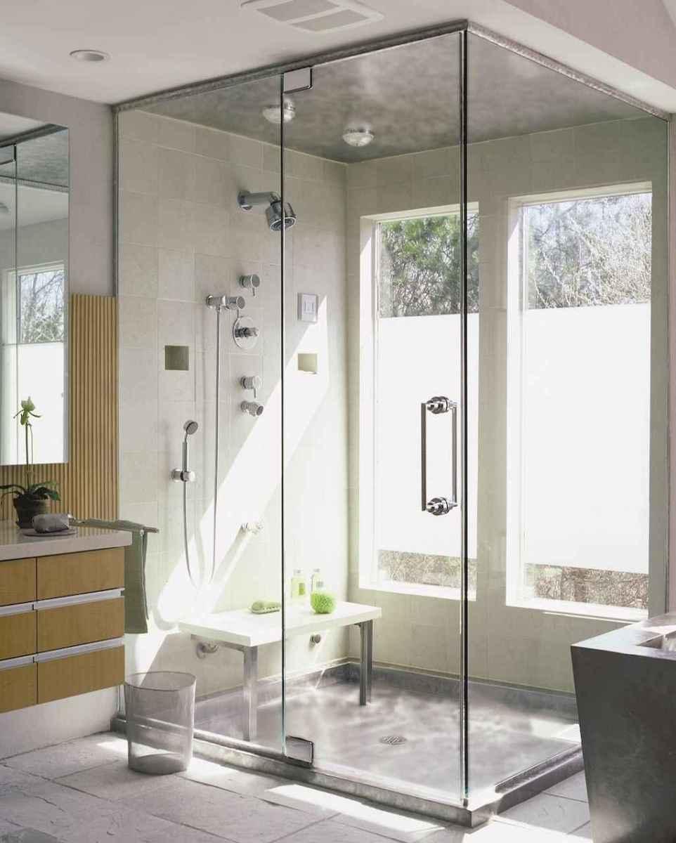 100 best farmhouse bathroom tile shower decor ideas and remodel to inspiring your bathroom (9)