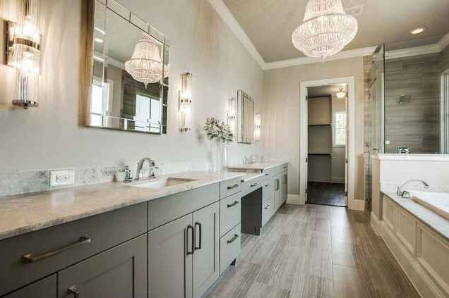 110 absolutely stunning bathroom decor ideas and remodel to inspire your bathroom (105)