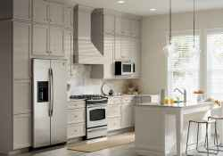 120 awesome farmhouse kitchen design ideas and remodel to inspire your kitchen (103)