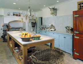 120 awesome farmhouse kitchen design ideas and remodel to inspire your kitchen (105)