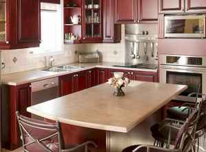 120 awesome farmhouse kitchen design ideas and remodel to inspire your kitchen (107)