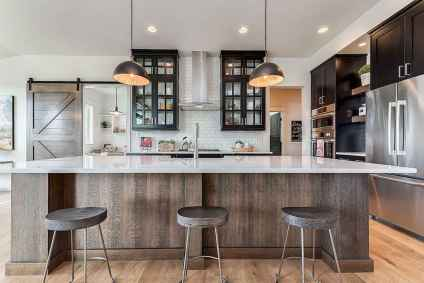 120 awesome farmhouse kitchen design ideas and remodel to inspire your kitchen (11)