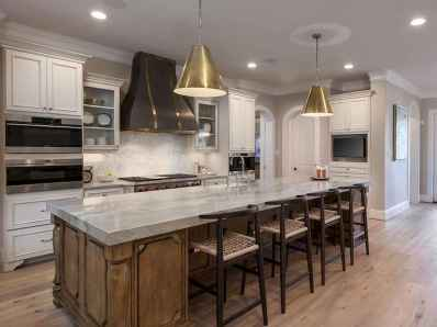 120 awesome farmhouse kitchen design ideas and remodel to inspire your kitchen (137)