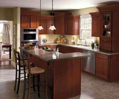 120 awesome farmhouse kitchen design ideas and remodel to inspire your kitchen (36)