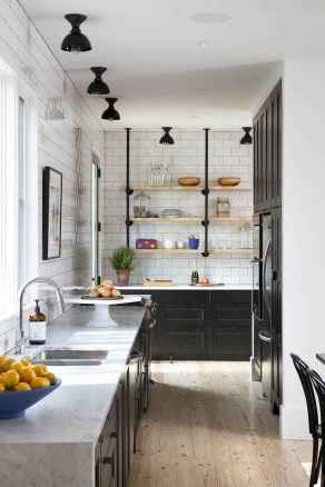 120 awesome farmhouse kitchen design ideas and remodel to inspire your kitchen (51)