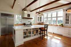 120 awesome farmhouse kitchen design ideas and remodel to inspire your kitchen (59)