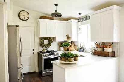 120 awesome farmhouse kitchen design ideas and remodel to inspire your kitchen (66)