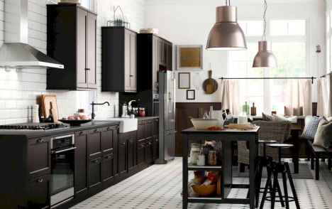 120 awesome farmhouse kitchen design ideas and remodel to inspire your kitchen (8)