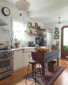 120 awesome farmhouse kitchen design ideas and remodel to inspire your kitchen (93)