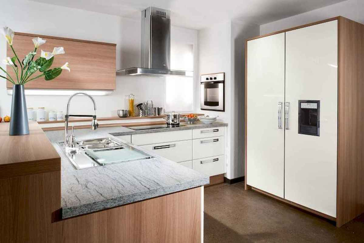 120 beautiful small kitchen design ideas and remodel to inspire your kitchen beautiful (102)