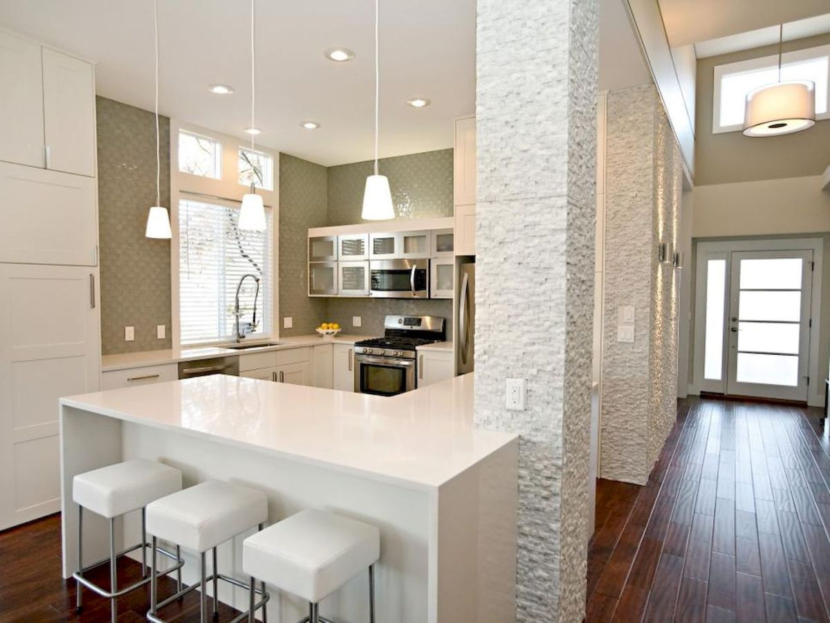 120 beautiful small kitchen design ideas and remodel to inspire your kitchen beautiful (12)