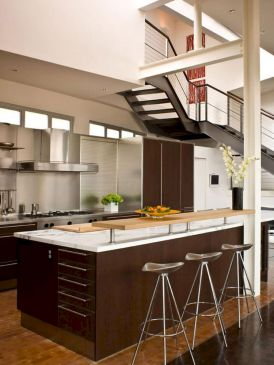 120 beautiful small kitchen design ideas and remodel to inspire your kitchen beautiful (15)