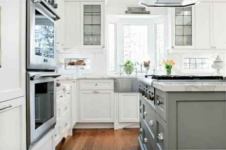 120 beautiful small kitchen design ideas and remodel to inspire your kitchen beautiful (6)