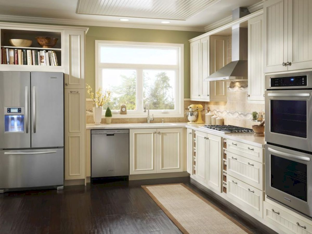 120 beautiful small kitchen design ideas and remodel to inspire your kitchen beautiful (7)