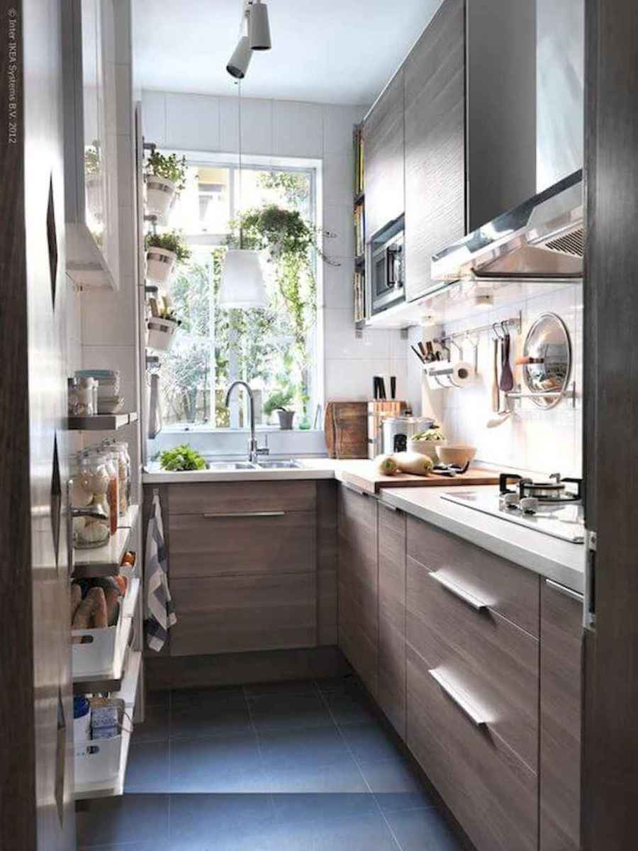 120 beautiful small kitchen design ideas and remodel to inspire your kitchen beautiful (71)
