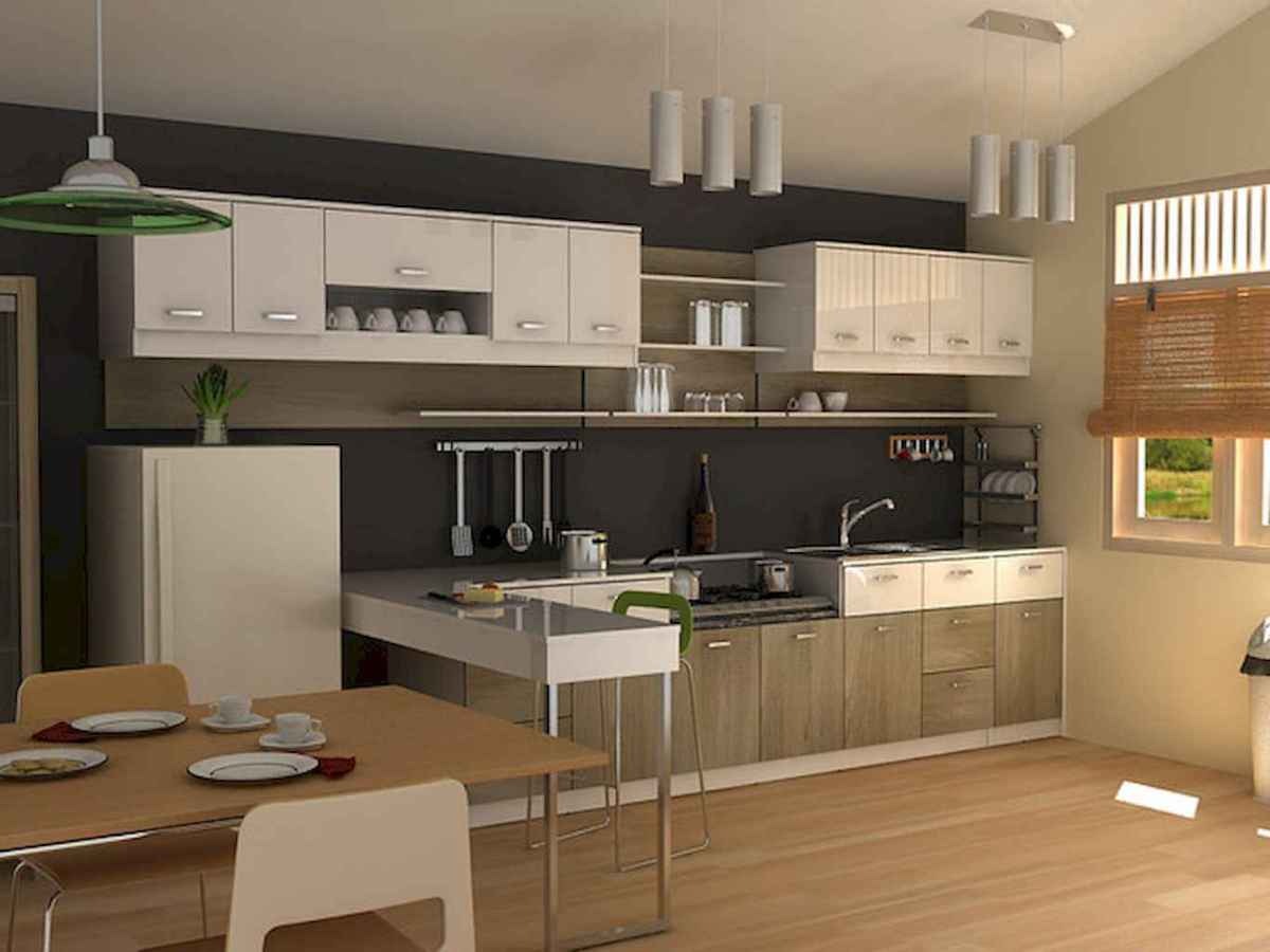 120 beautiful small kitchen design ideas and remodel to inspire your kitchen beautiful (75)
