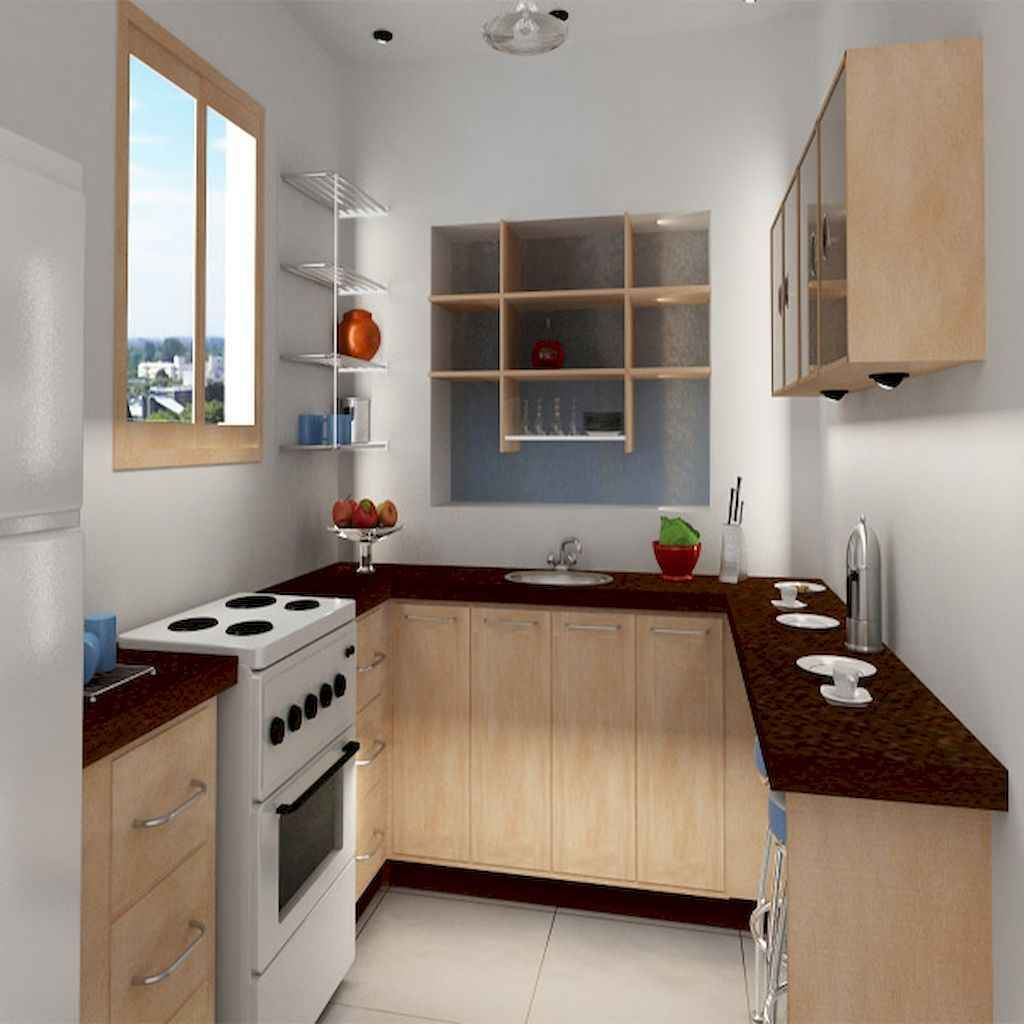 120 beautiful small kitchen design ideas and remodel to inspire your kitchen beautiful (88)