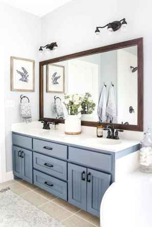 120 best modern farmhouse bathroom design ideas and remodel to inspire your bathroom (35)