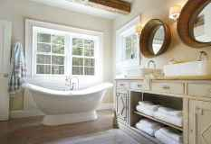 120 best modern farmhouse bathroom design ideas and remodel to inspire your bathroom (38)