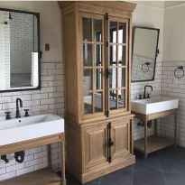 120 best modern farmhouse bathroom design ideas and remodel to inspire your bathroom (65)