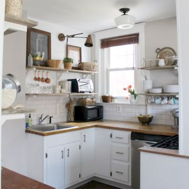 120 inspiring tiny kitchen design ideas and remodel (1)