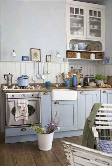 120 inspiring tiny kitchen design ideas and remodel (46)