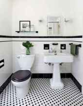 150 stunning farmhouse bathroom tile floor decor ideas and remodel to inspire your bathroom (115)
