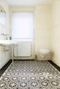 150 stunning farmhouse bathroom tile floor decor ideas and remodel to inspire your bathroom (13)