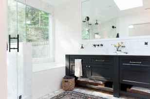 150 stunning farmhouse bathroom tile floor decor ideas and remodel to inspire your bathroom (136)