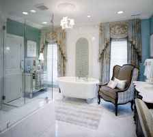 150 stunning farmhouse bathroom tile floor decor ideas and remodel to inspire your bathroom (46)