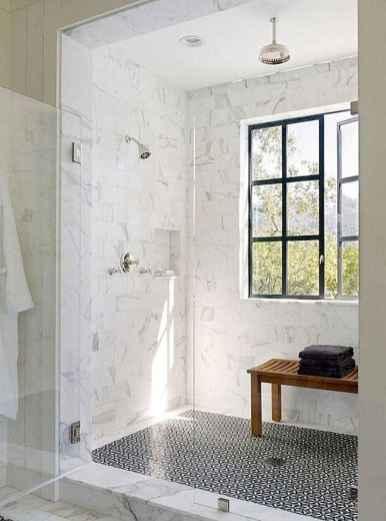150 stunning farmhouse bathroom tile floor decor ideas and remodel to inspire your bathroom (64)