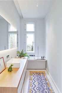 150 stunning farmhouse bathroom tile floor decor ideas and remodel to inspire your bathroom (67)