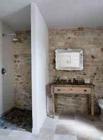 150 stunning farmhouse bathroom tile floor decor ideas and remodel to inspire your bathroom (84)