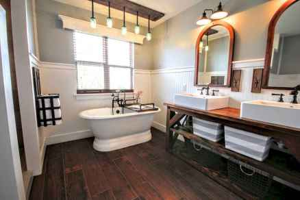 150 stunning small farmhouse bathroom decor ideas and remoddel to inspire your bathroom (112)