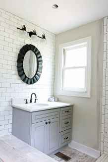 150 stunning small farmhouse bathroom decor ideas and remoddel to inspire your bathroom (117)