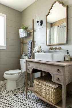 150 stunning small farmhouse bathroom decor ideas and remoddel to inspire your bathroom (126)