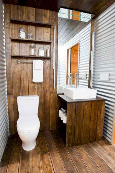 150 stunning small farmhouse bathroom decor ideas and remoddel to inspire your bathroom (141)