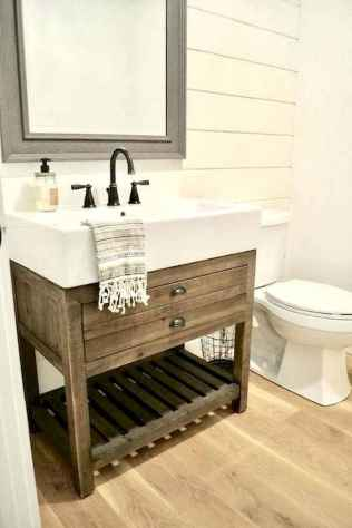 150 stunning small farmhouse bathroom decor ideas and remoddel to inspire your bathroom (142)