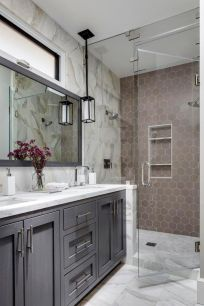 150 stunning small farmhouse bathroom decor ideas and remoddel to inspire your bathroom (3)