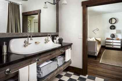 150 stunning small farmhouse bathroom decor ideas and remoddel to inspire your bathroom (85)