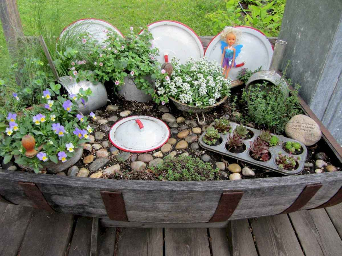 40 diy fun garden ideas decorations and makeover for summer (32)