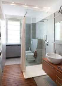 70 inspiring farmhouse bathroom shower decor ideas and remodel to inspire your bathroom (14)