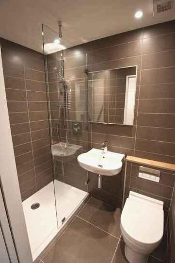 70 inspiring farmhouse bathroom shower decor ideas and remodel to inspire your bathroom (56)