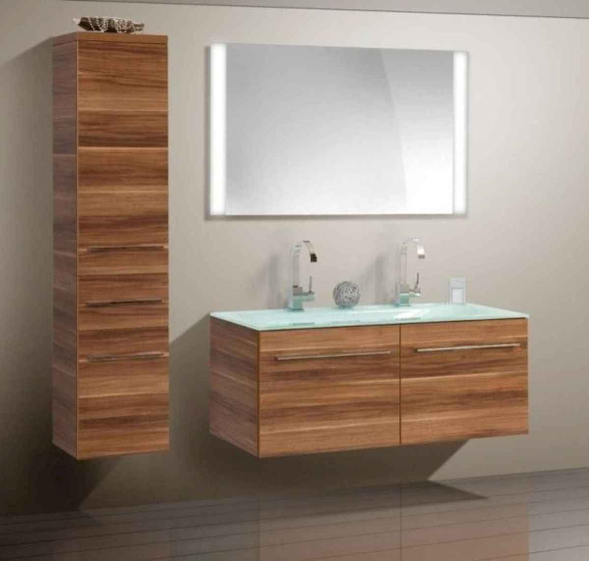 70 modern bathroom cabinets ideas decorations and remodel (31)