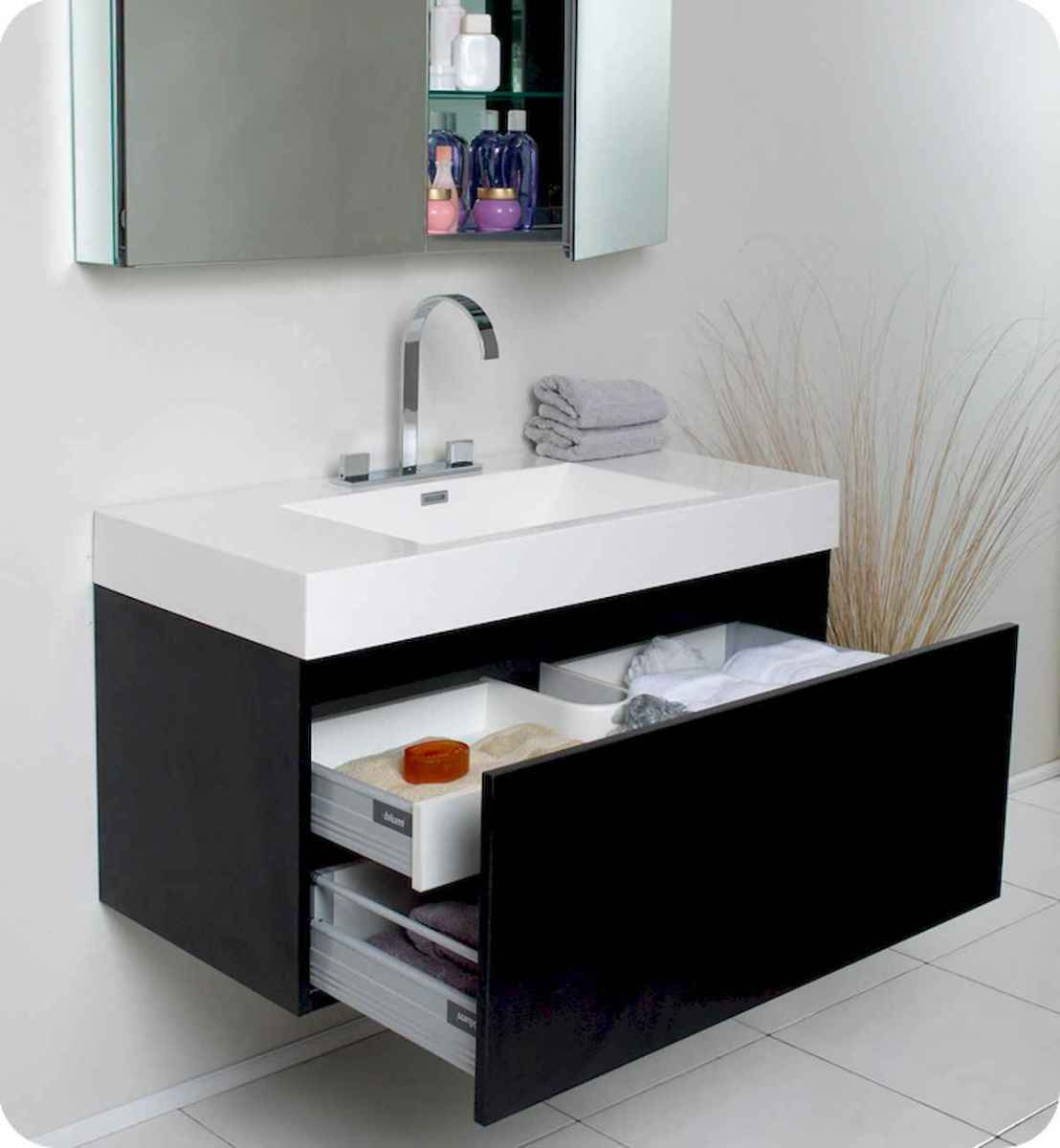 70 modern bathroom cabinets ideas decorations and remodel (40)