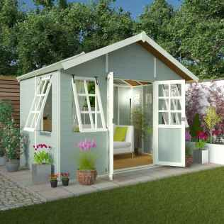 90 beautiful summer house design ideas and makeover make your summer awesome (41)