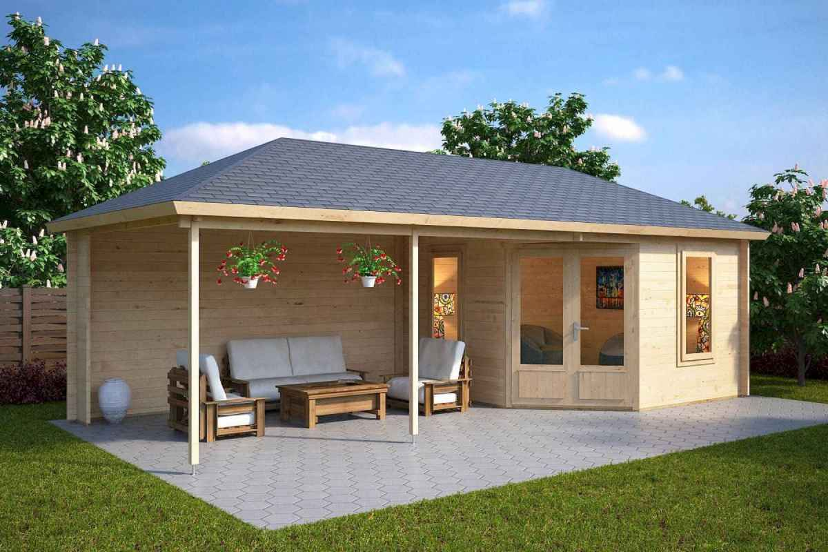 90 beautiful summer house design ideas and makeover make your summer awesome (73)