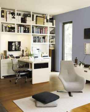 90 stunning home office design ideas and remodel make your work comfortable (34)