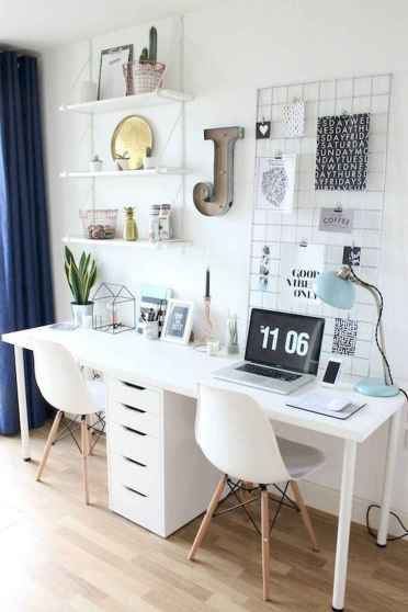 90 stunning home office design ideas and remodel make your work comfortable (4)
